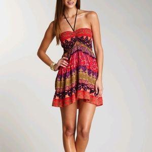 NWOT Hale Bob Silk Cabana Dress
